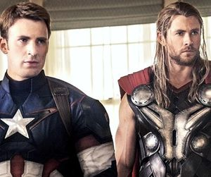 captain america, thor, and Avengers image