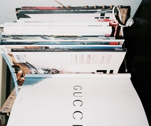theme, gucci, and book image