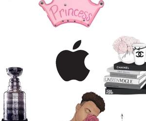 apple, black, and him image