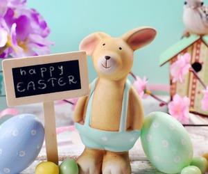 bird, bunny, and decoration image