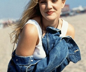 90s, drew barrymore, and happy image