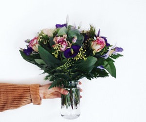 beautiful, photography, and bouquet image