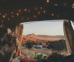 travel, camping, and nature image