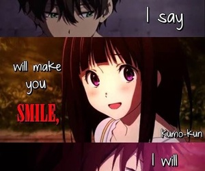 anime, design, and anime quotes image