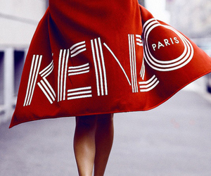 Kenzo, fashion, and red image
