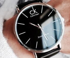 black, details, and Calvin Klein image