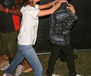 selena gomez, coachella, and the weeknd image
