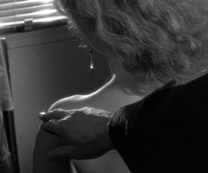 black and white, film, and movie image