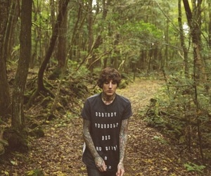 bring me the horizon, forest, and oli sykes image