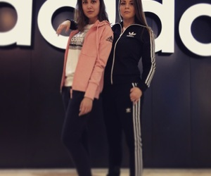 adidas, best friends, and costumes image