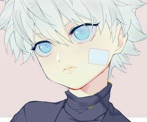 anime, art, and killua image