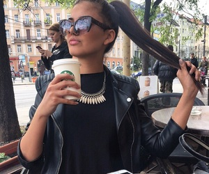 budapest, coffe, and girl image