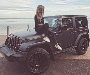 black, car, and hummer image