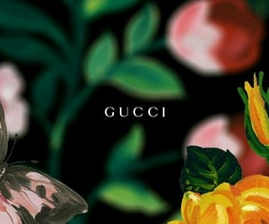 gucci, art, and background image