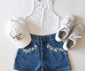 bright, outfit, and summer image