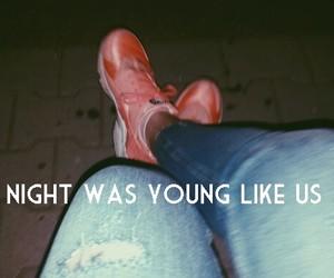 huarache, nike, and young image