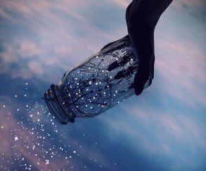 light, sky, and stars image