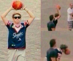 Basketball, funny, and 1d image