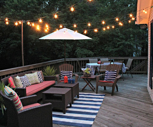 design, fairy lights, and outdoor image