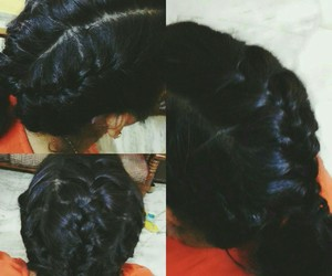 Easy, girly, and hairstyle image