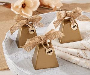 rustic wedding favors, wedding bells, and rustic favors image