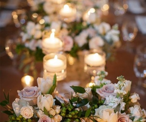 flowers, plans, and wedding image