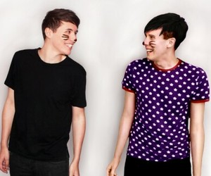 i ship it, dan and phil, and phan girl image
