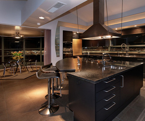 luxury, kitchen, and house image