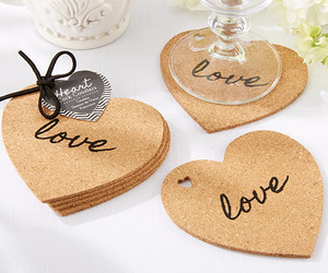 coasters, wedding favors, and rustic wedding favors image