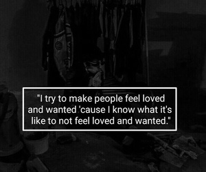 quote, sad, and love image