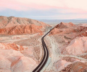 nature, pink, and travel image