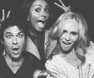 cast, ian somerhalder, and the vampire diaries image