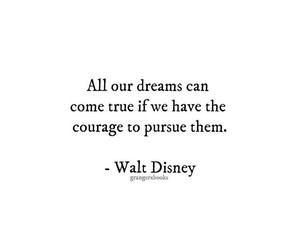 courage, dreams, and walt disney image