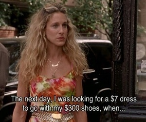 sex and the city and Carrie Bradshaw image