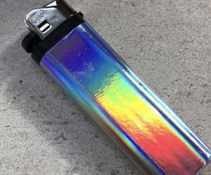 holographic, lighter, and holo image