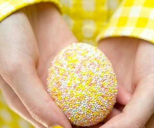 egg, easter, and yellow image