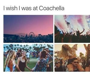 coachella, festival, and friends image