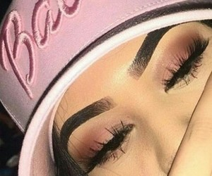 barbie, lashes, and girl image