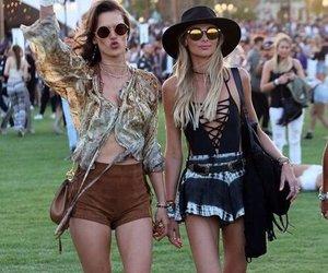 coachella, festival, and style image