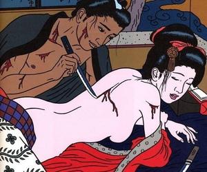 art, japanese art, and toshio saeki image
