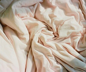 bed, aesthetic, and pink image