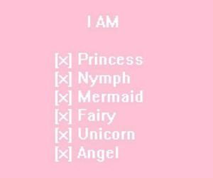 unicorn, princess, and angel image