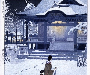 art, japanese art, and shiro kasamatsu image