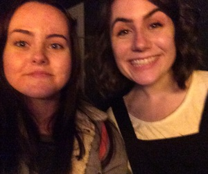 dodie, remember when i met her, and hahahah i miss this image
