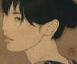 art, japanese art, and ikenaga yasunari image