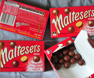 maltesers, chocolate, and food image