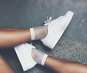white, adidas, and fashion image