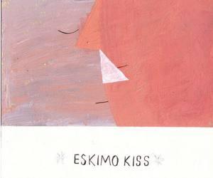 art, eskimo, and kiss image