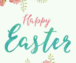 happy easter, easter, and spring image