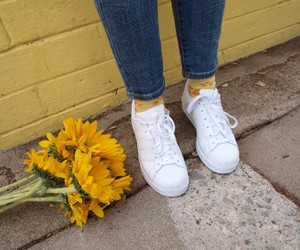 yellow, tumblr, and flowers image